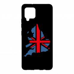 Чехол для Samsung A42 5G Флаг Англии