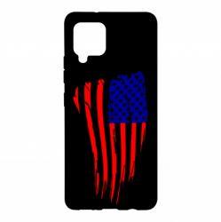 Чохол для Samsung A42 5G Прапор США