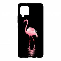 Чохол для Samsung A42 5G Фламинго