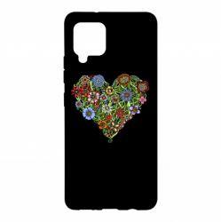 Чохол для Samsung A42 5G Flower heart