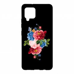 Чохол для Samsung A42 5G Flowers and butterfly