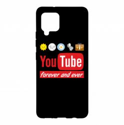 Чохол для Samsung A42 5G Forever and ever emoji's life youtube