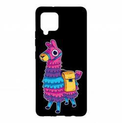 Чохол для Samsung A42 5G Fortnite colored llama