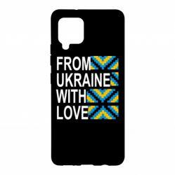 Чохол для Samsung A42 5G From Ukraine with Love (вишиванка)