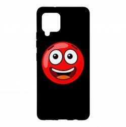 Чохол для Samsung A42 5G Funny Red Ball