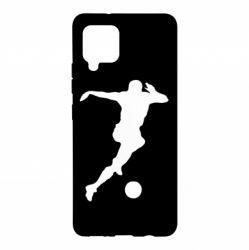 Чехол для Samsung A42 5G Футбол