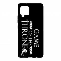Чохол для Samsung A42 5G Game of thrones stylized logo