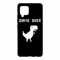Чехол для Samsung A42 5G Game over dino from browser
