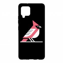 Чохол для Samsung A42 5G Geometric Bird