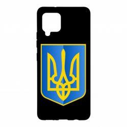 Чехол для Samsung A42 5G Герб України 3D