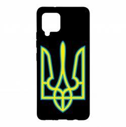Чохол для Samsung A42 5G Герб України (двокольоровий)
