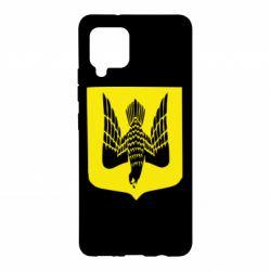 Чохол для Samsung A42 5G Герб України сокіл