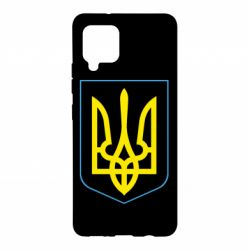 Чохол для Samsung A42 5G Герб України з рамкою
