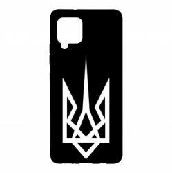 Чехол для Samsung A42 5G Герб України загострений