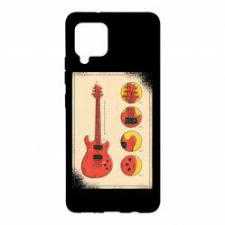Чохол для Samsung A42 5G Гітара