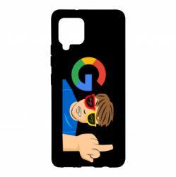 Чохол для Samsung A42 5G Google guy Fuck You