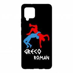 Чохол для Samsung A42 5G Греко-римська боротьба