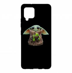 Чохол для Samsung A42 5G Grogu and Kermit