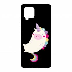 Чехол для Samsung A42 5G Happy color unicorn