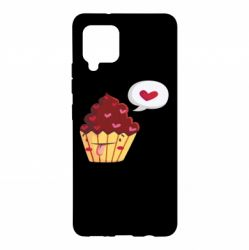Чохол для Samsung A42 5G Happy cupcake