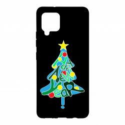 Чохол для Samsung A42 5G Happy new year on the tree
