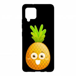 Чохол для Samsung A42 5G Happy pineapple