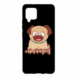 Чехол для Samsung A42 5G Happy pug