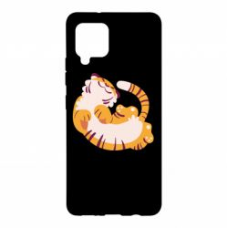 Чохол для Samsung A42 5G Happy tiger