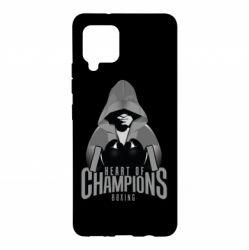 Чехол для Samsung A42 5G Heart of Champions