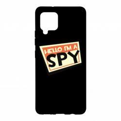 Чохол для Samsung A42 5G Hello i'm a spy