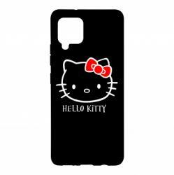 Чехол для Samsung A42 5G Hello Kitty