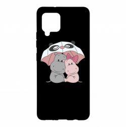 Чохол для Samsung A42 5G Hippos