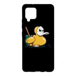 Чохол для Samsung A42 5G Hockey duck