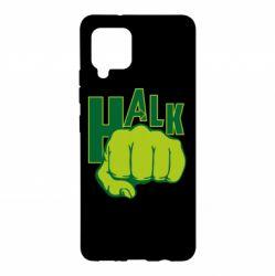 Чехол для Samsung A42 5G Hulk fist