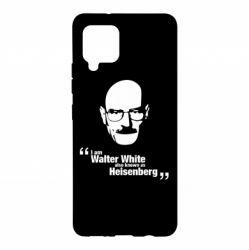 Чохол для Samsung A42 5G i am walter white also known as гейзенберга