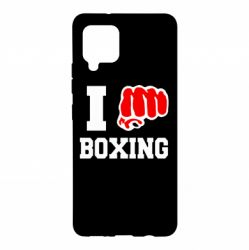 Чохол для Samsung A42 5G I love boxing