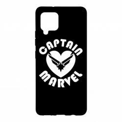 Чохол для Samsung A42 5G I love Captain Marvel