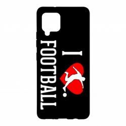 Чохол для Samsung A42 5G I love football