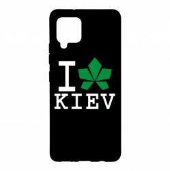 Чохол для Samsung A42 5G I love Kiev - з листком