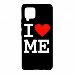 Чехол для Samsung A42 5G I love ME