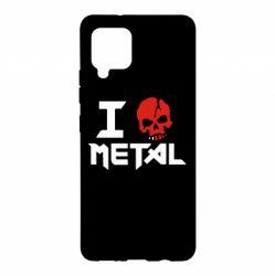Чехол для Samsung A42 5G I love metal