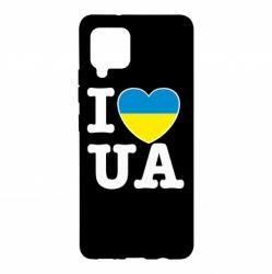 Чохол для Samsung A42 5G I love UA