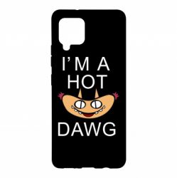 Чохол для Samsung A42 5G Im hot a dawg