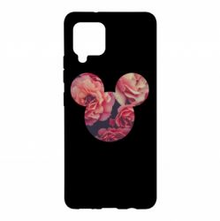 Чохол для Samsung A42 5G Inner world flowers mickey mouse