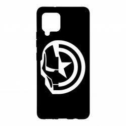 Чохол для Samsung A42 5G Iron Man and Captain America