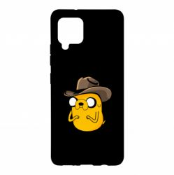 Чохол для Samsung A42 5G Jack Daniels Adventure Time