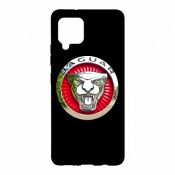 Чехол для Samsung A42 5G Jaguar emblem