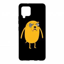 Чохол для Samsung A42 5G Jake from  Adventure Time