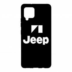 Чехол для Samsung A42 5G Jeep Logo