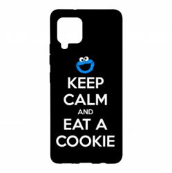 Чехол для Samsung A42 5G Keep Calm and Eat a cookie